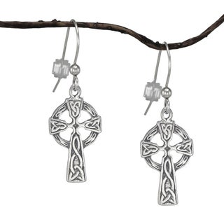 Jewelry by Dawn Small Celtic Cross Sterling Silver Earrings