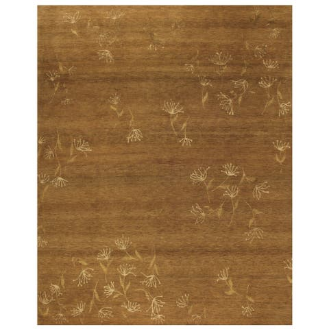 Grand Bazaar Tristesse Hand Knotted Transitional Rug