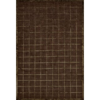 """Grand Bazaar Hand-knotted Wool and Silk Chadwick Rug (5'6 x 8'6) - 5'6"""" x 8'6"""""""