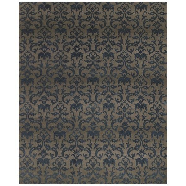 Shop Grand Bazaar Hand-knotted Wool/ Silk/ Cotton