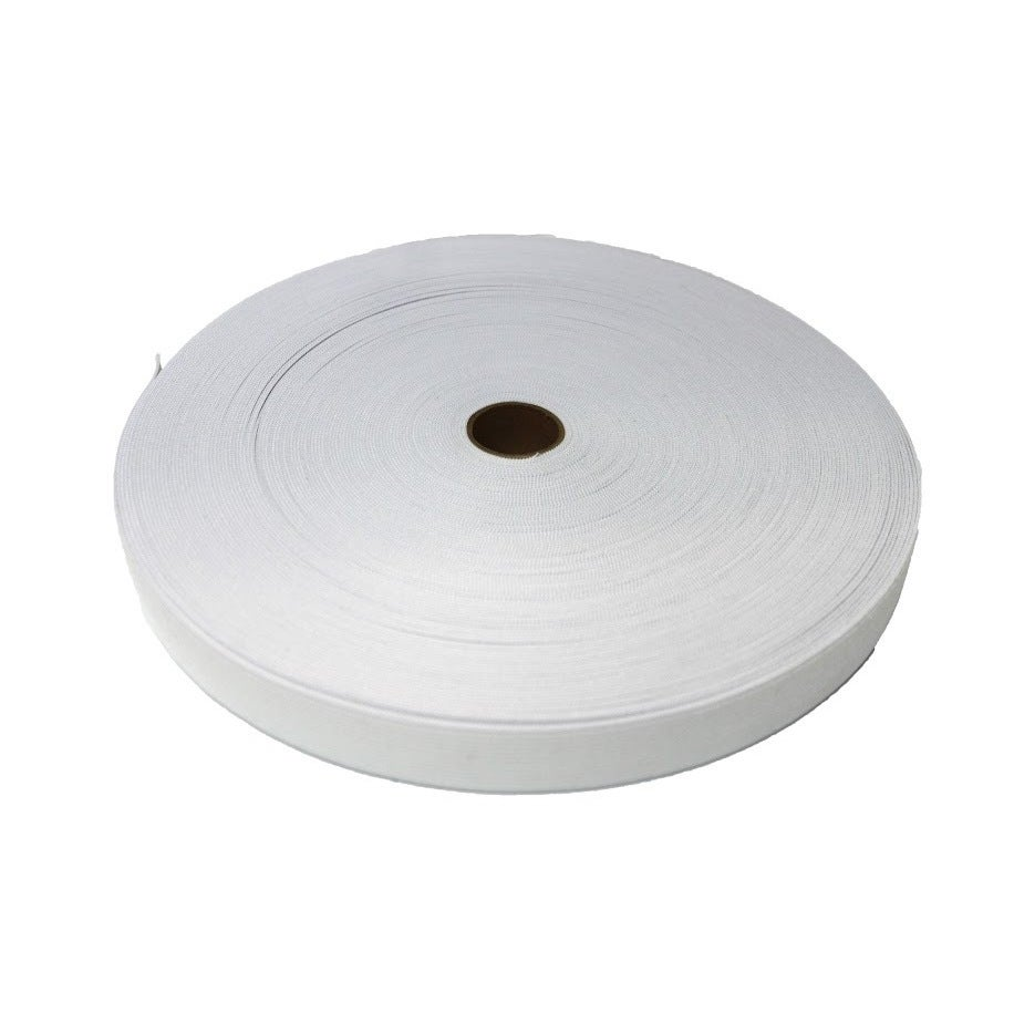 """Knitted Elastic White 1/"""" inch 50 YARDS ROLL Spool"""