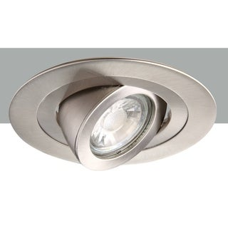 Elegant Lighting Elitco 4-Inch Brushed Nickel 35-Degree Adjustable Spotlight