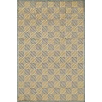 """Grand Bazaar Hand-knotted Wool and Silk Chadwick Rug (7'9 x 9'9) - 7'9"""" x 9'9"""""""