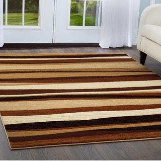 Home Dynamix Tribeca Collection HD5374-500 Brown Area Rug Scatter (1'7 x 2'7.5)