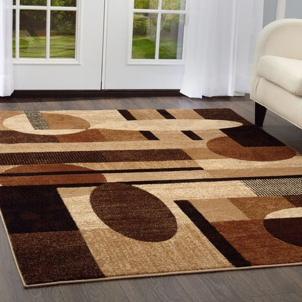 Home Dynamix Tribeca Collection Contemporary Multicolor