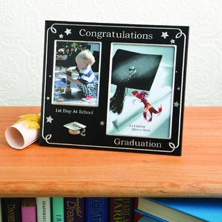 First Day of School and Graduation' Photo Frame