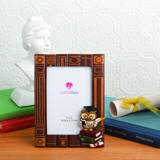 Graduation Owl Themed Photo Frame