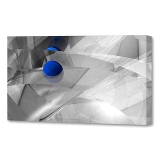 Menaul Fine Art's  'Shattered Blue Vista'  by Scott J. Menaul