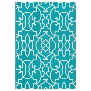 Rizzy Home Glendale Collection GD5949 Accent Rug (5'3 x 7'7)