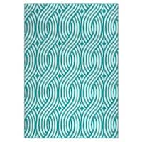 Rizzy Home Glendale Collection GD5950 Accent Rug - 5'3 x 7'7