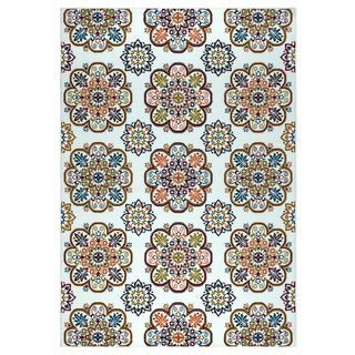 Rizzy Home Glendale Collection GD5915 Accent Rug (6'7 x 9'6)