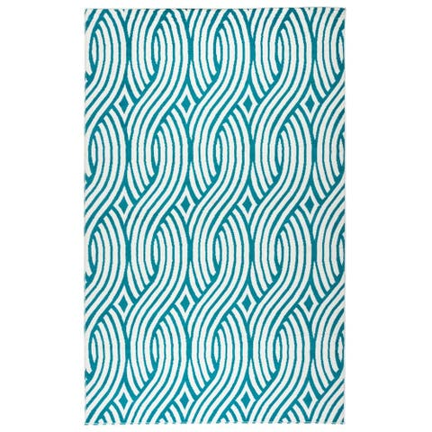 "Rizzy Home Glendale Collection GD5950 Accent Rug (6'7 x 9'6) - 6'7"" x 9'6"""