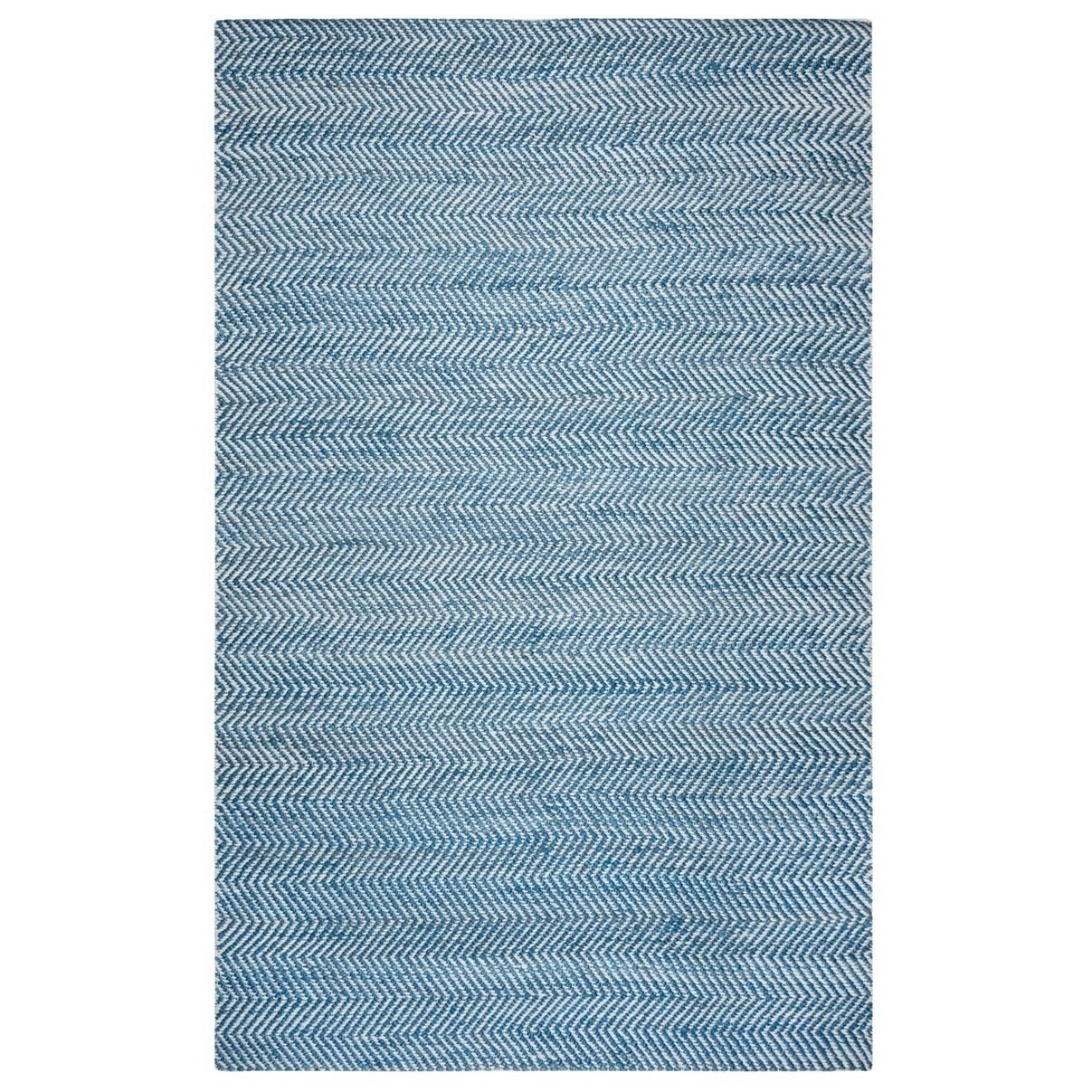 Rizzy Home Harlem Collection EG9638 Accent Rug (3 x 5) - 3 x 5 (3 x 5 - Blue)