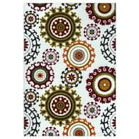 """Rizzy Home Glendale Collection GD5955 Accent Rug - Multi-color - 7'9"""" x 10'10"""""""