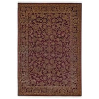 Grand Bazaar Hand-knotted Wool and Art Silk Armitage Rug (8'6 x 11'6) - 8'6 x 11'6