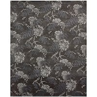 Grand Bazaar Hand-knotted Wool and Viscose Dayuan Rug (2' x 3') - 2' x 3'