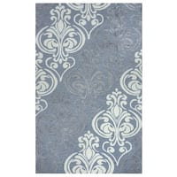 Rizzy Home Lancaster Collection LS9562 Area Rug - 5' x 8'