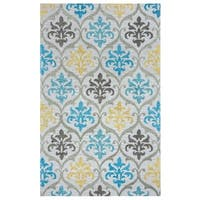 Rizzy Home Lancaster Collection LS9573 Area Rug - Multi-color - 5' x 8'
