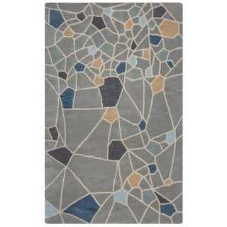 Rizzy Home Marianna Fields Collection MF9502 Area Rug (5' x 8')