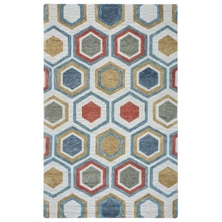Rizzy Home Lancaster Collection LS9575 Area Rug (5' x 8')