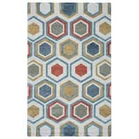 Rizzy Home Lancaster Collection LS9575 Area Rug - 9' x 12'