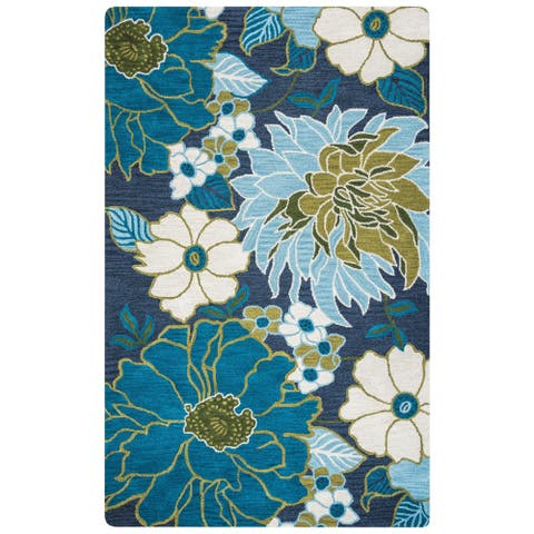 Rizzy Home Lunicca Collection LI9461 Area Rug (5' x 8') - 5' x 8'