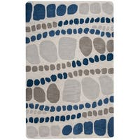 Rizzy Home Marianna Fields Collection MF9523 Area Rug - 5' x 8'