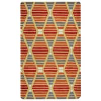 Rizzy Home Marianna Fields Collection MF9520 Area Rug - Multi - 8' x 10'