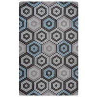 Rizzy Home Marianna Fields Collection MF9519 Area Rug - Multi - 9' x 12'