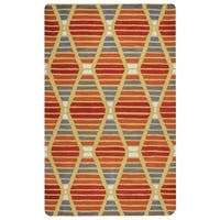Rizzy Home Marianna Fields Collection MF9520 Area Rug - 9' x 12'