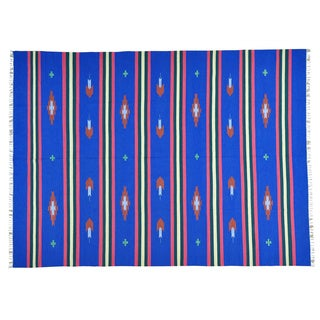 Design Flat Weave Hand-woven Killim Oriental Rug (8'10 x 12'1)