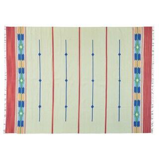 Design Hand-woven Flat Weave Killim Oriental Rug (8'10 x 12'1)