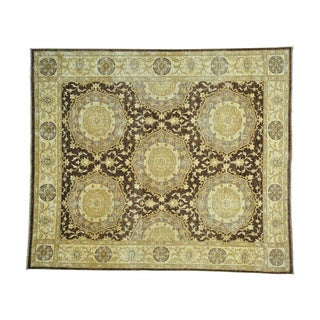Peshawar Neo Classic Design Hand-knotted Oriental Rug (8' x 9'6)