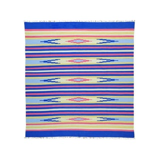 Flat Weave Killim Design Hand-woven Rug (9'10 x 10'5)
