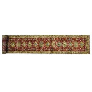 Wool Karajeh Hand-knotted Oriental XL Runner Rug (2'6 x 16')