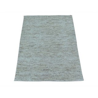 Thick and Plush Modern Loomed Gabbeh Oriental Rug (2' x 3')