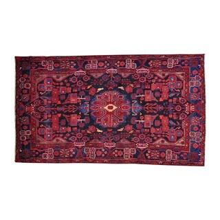 Wool Handmade Full Pile Persian Nahavand Oriental Rug (5' x 8'8)