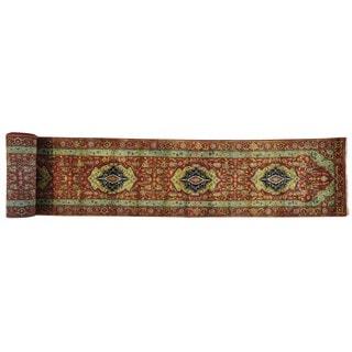 Antiqued Heriz Recreation Handmade Oriental XL Runner Rug (2'7 x 24'3)