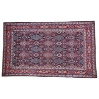 Wool Persian Birjand Oriental Rug Handmade - 6'10 x 11'5