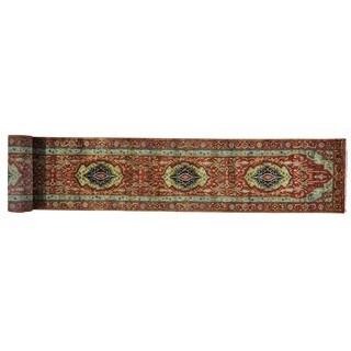 Handmade Antiqued Heriz Recreation Oriental XL Runner Rug (2'5 x 21'8)