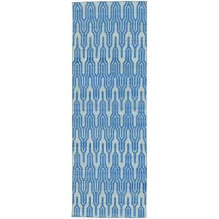 Reversible Flat Weave Hand-woven Killim Runner Rug (2'9 x 7'10)