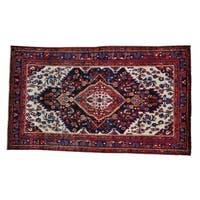 Wool Handmade Full Pile Persian Nahavand Oriental Rug