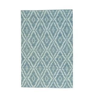 Hand-woven Reversible Flat Weave Kilim Oriental Rug (4'5 x 6'7)