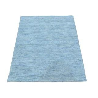Wool Modern Loomed Gabbeh Oriental Rug (2' x 3')