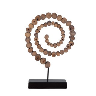 Hartford Wood Sculpture on Stand
