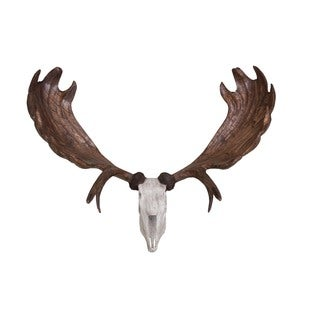 Lennox Wooden Antler Wall Decor