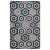 Rizzy Home Marianna Fields Collection MF9519 Area Rug (5' x 8') - 5' x 8'