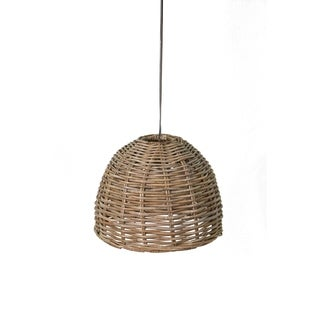 East At Mainu0027s Dawson Kubo Hanging L& S  sc 1 st  Overstock.com & Rattan Lighting | Find Great Home Decor Deals Shopping at Overstock.com