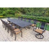 Ravenna Sunbrella Aluminum 13-piece Dining Set