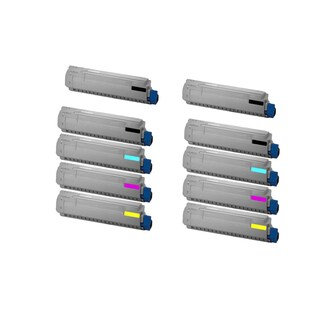 10PK Compatible S050190 Toner Cartridge For Epson CX11 CX11N CX11NF C1100 ( Pack of 10 )